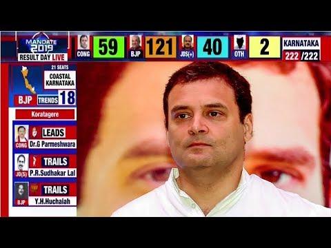 Karnataka election results 2018: Rahul Gandhi's claims to PM post comes crashing