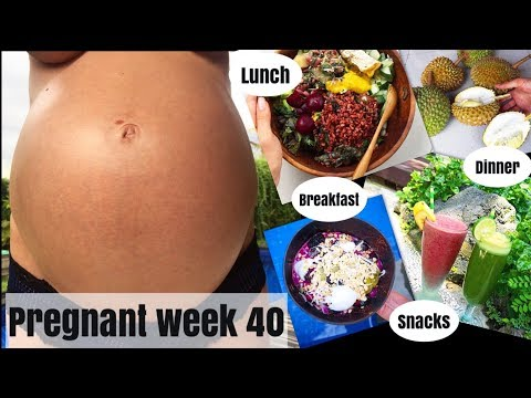 WHATI EAT VEGAN THE DAY BEFOTE DUE DAY OF MY PREGNANCY