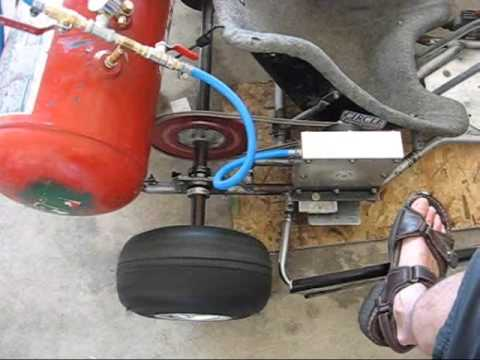 THE KENDALL MOTOR - Compressed Air Turbine Powered Go Kart