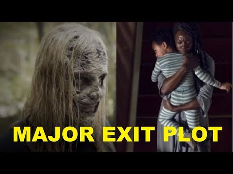 The Walking Dead - Michonne and RJ EXIT Theory