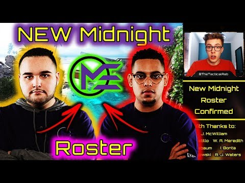 PARASITE in the League! | NEW Midnight Esports Roster | CWL Fort Worth Rostermania | BO4 Competitive