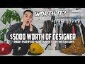 $5000 Designer Haul | Fear of God, RHUDE, Saint Laurent, Louis Vuitton, more...