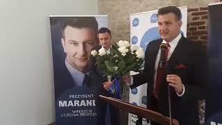 Konwencja Komitetu Wyborczego Wyborców Marcin Maranda Mieszkańcy Częstochowy cz 2
