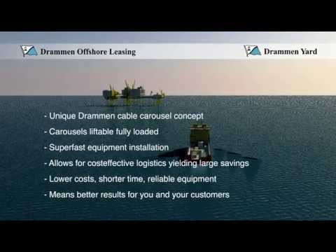 Drammen Yard - Quick conversion to cable layer
