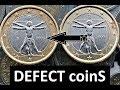 Gambar cover Italy 1 Euro 2008 2009 R Defect coins RARE/2 Euro 14.000.000