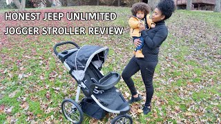 HONEST Review on the Jeep Unlimited Jogger Stroller By Delta Children