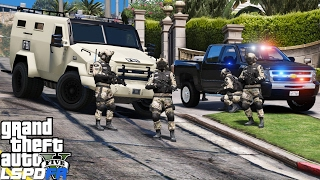 GTA 5 LSPDFR Police Mod 362 | FBI Hostage Rescue Team | Saving Hostages In Los Santos | Swat Patrol