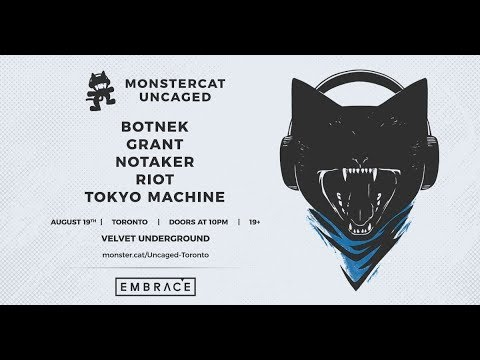 Embrace Presents: Monstercat Uncaged on August 19th!