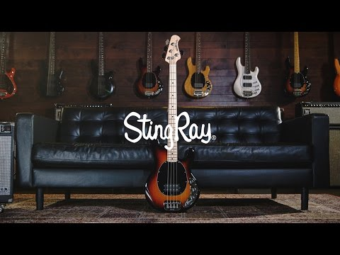 Ernie Ball Music Man StingRay 4 Bass: Joe Dart Demos