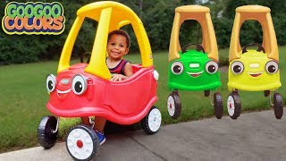 GAGA TEACH TALKING CAR THE COLORS! Learn With Goo Goo Gaga