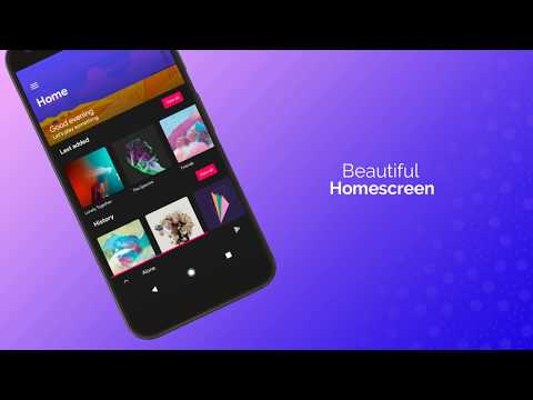 Retro music player v6 - The best music player for Android