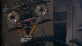 "Short Circuit (1986) ""Who's Johnny"" scene HQ"
