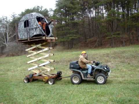 Redneck Treestand The Delivery Mpg Youtube