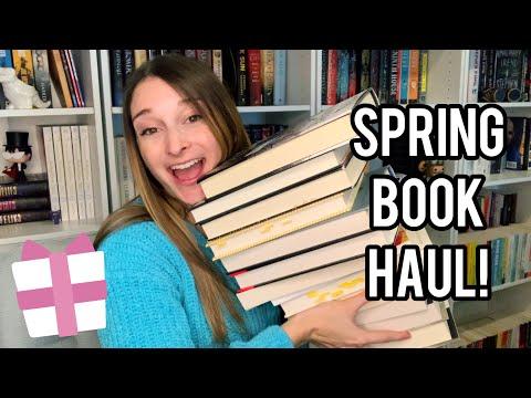 SPRING BOOK HAUL