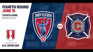 2016 Lamar Hunt U.S. Open Cup - Fourth Round: Chicago Fire vs. Indy Eleven