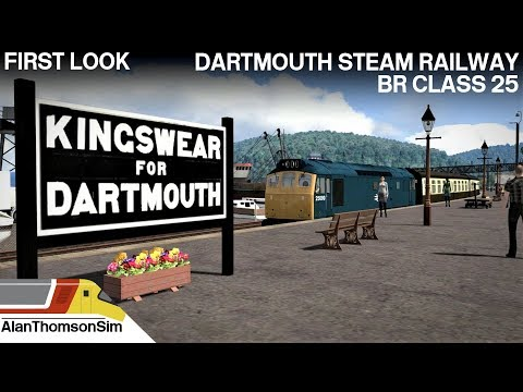 Train Simulator 2018:Class 25  Paignton- Kingswear