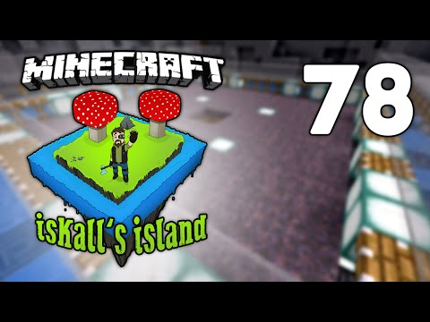 Iskall's Island - 78 - Fully Automatic Mooshroom/Cow Farm!