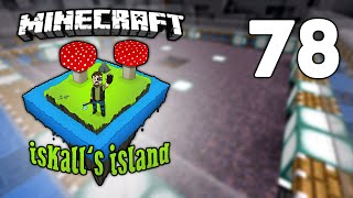 Iskall's Island - 78 - Fully Automatic Mooshroom/Cow Farm!