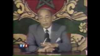 Hassan 2 critiqué par journalistes de TF1 en 1991