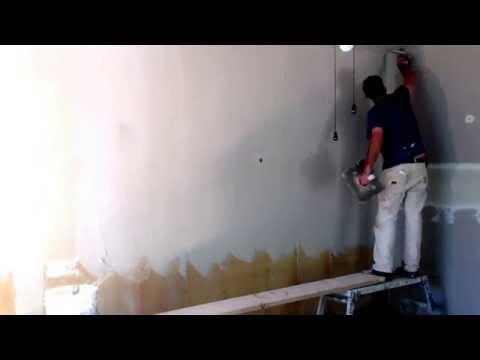 Skim coating old drywall