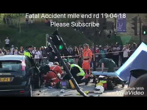 Mile end rd Fatal Accident London Air Ambulance