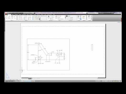 Autocad 2013 Layout Basics