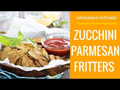 Zucchini Fritters - Recipe For Beginners From Archana's Kitchen
