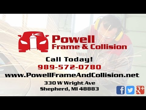 Powell Frame & Collision | Shepherd MI Auto Body Repair