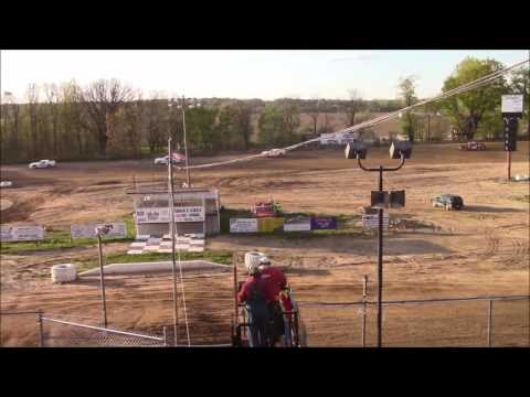 Butler Motor Speedway Street Stock Heat #1 5/6/17