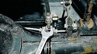 видео Замена тормозных трубок ВАЗ