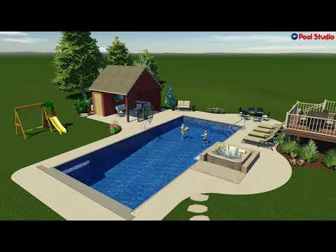 Belgium, WI - Pool Design Video Walk Through Tour