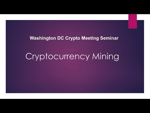 ALLEY BY VERIZON HOSTS DC CRYPTO MINING | How To Get Started With Mining |