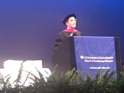 Seth W. Pinsky, 2011 Commencement Speaker, Columbia University School of Continuing Education