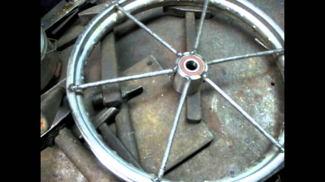 Деревянное колесо своими руками 76