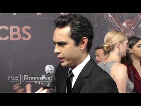 """Max Minghella on working with Elisabeth Moss on """"The Handmaid's Tale"""" - 2017 Primetime Emmys"""