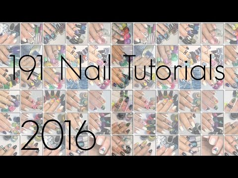 191 MINI NAIL TUTORIALS!! MASSIVE COMPILATION!!