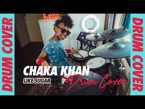 CHAKA KHAN - Like Sugar Official Video (DRUMS)