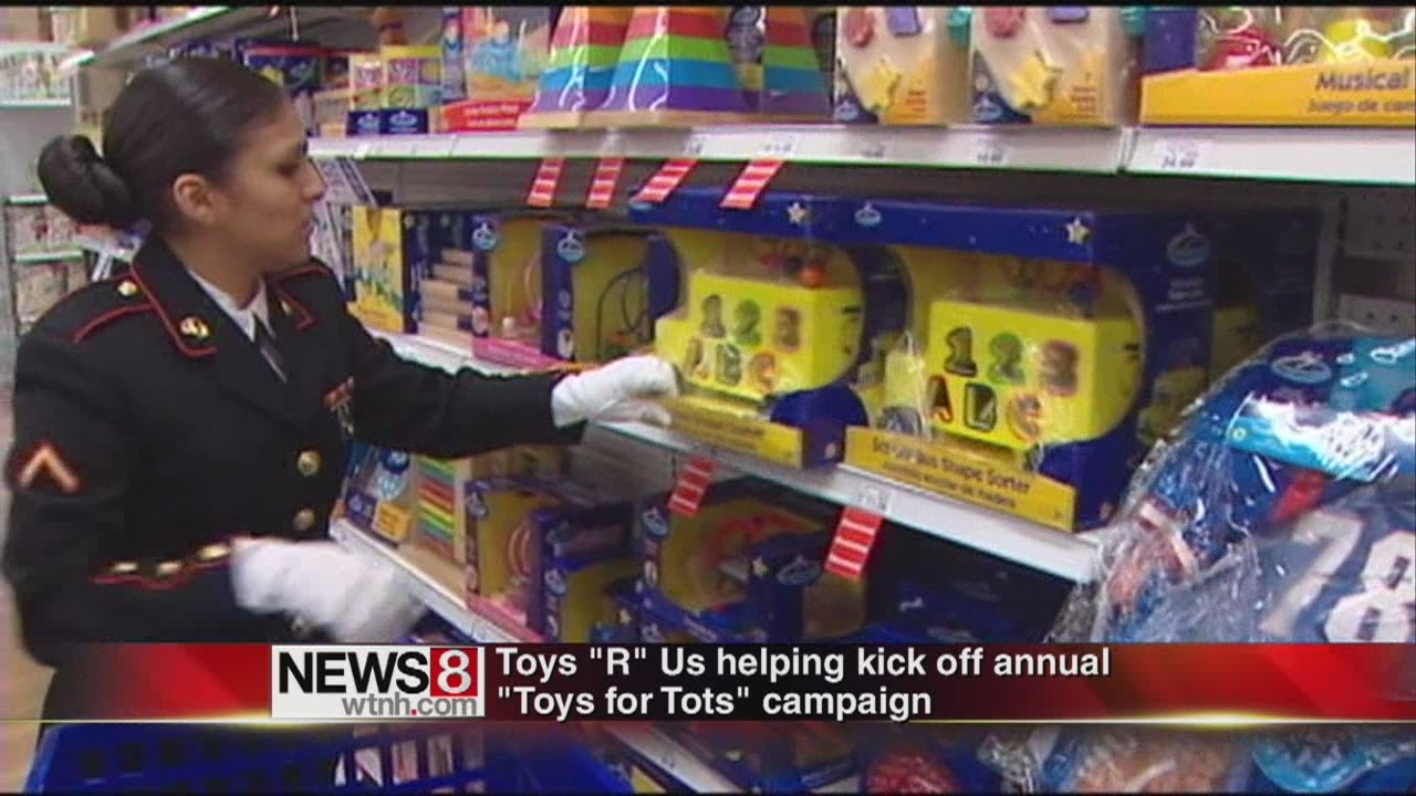 Toys For Tots Rating : Marine corps toys for tots drive begins youtube