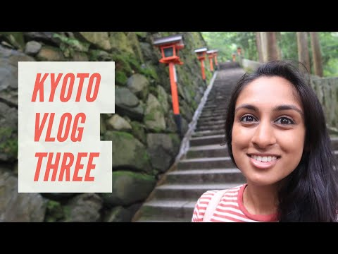 HIKING MOUNT KURAMA - Japan Vlog 7