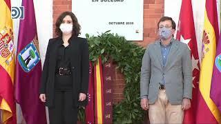 Homenaje a las víctimas del COVID-19 en Madrid