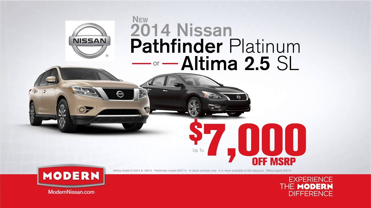 Modern Nissan Of Lake Norman Bottom Line Sales Event
