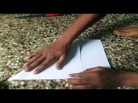 how to make jumping frog with paper at home