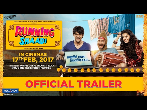 Thumbnail: Running Shaadi | Official Trailer | Taapsee Pannu | Amit Sadh | Releasing 17th Feb 2017