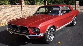 1968 Mustang Coupe for sale Old Town Automobile in Maryland