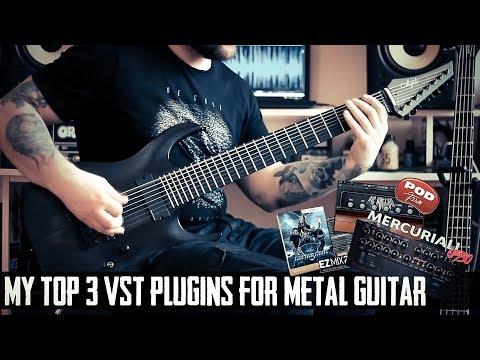 My Top 3 VST Plugins for 8 String Guitar Metal Tone - YouTube