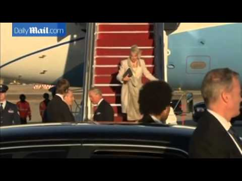 Inside Heir Force One: The luxury Airbus A320 Head Of State carrying Charles and Camilla across the