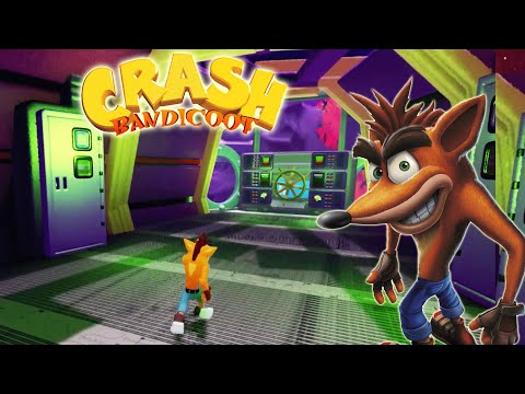 Crash Bandicoot Recreated In Surreal Dreams Levels