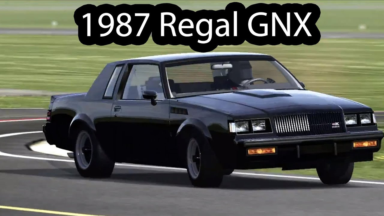1987 Buick GNX Top Gear Test Track - YouTube