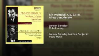 Six Preludes, Op. 23: III. Allegro moderato