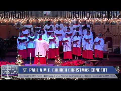 St. Paul A.M.E. Church Christmas Concert Part 1, December 16 2018